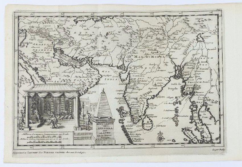 stara mapa arabie