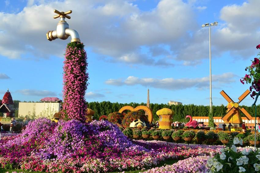 Dubaj Miracle Garden