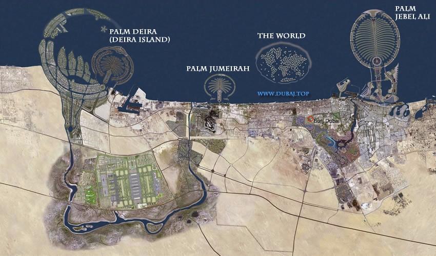 Dubai Islands (Dubajské ostrovy)