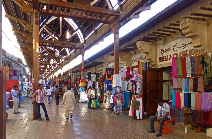 Textile Souk Dubaj