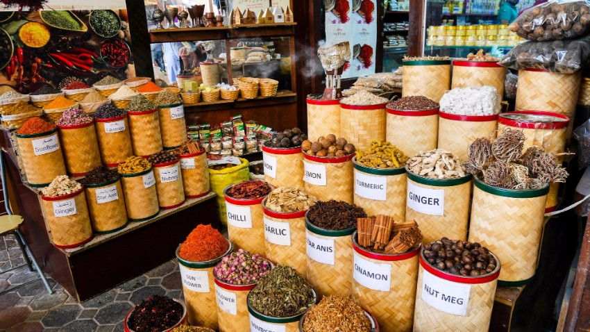 Spice Souk Dubaj