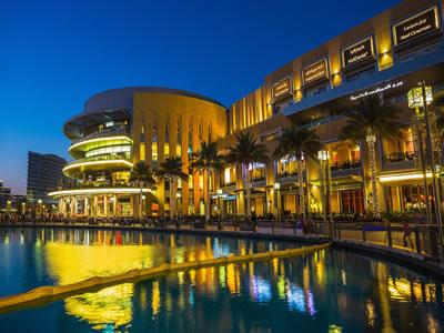 Nákupné centrá v Dubaji